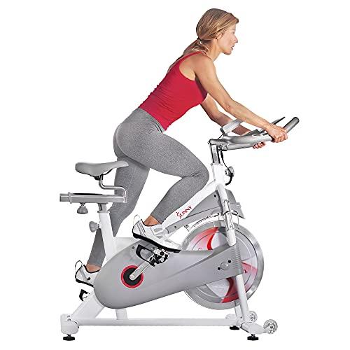 Sunny Health & Fitness Magnetic Belt Drive Premium Indoor Cycling Bike - SF-B1876