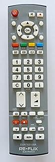 Re-Flix Vervangende afstandsbediening EUR765109A voor Panasonic TV TH-37PV60EH - TX-26LXD60EB
