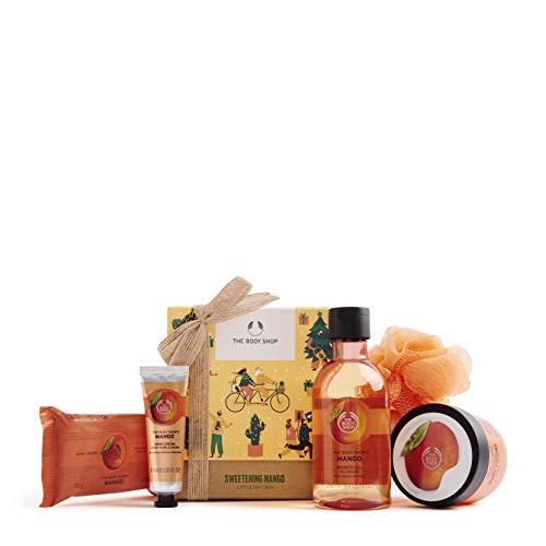 The Body Shop Mango- 5pc Small Gift Set with sweet body care treats, 16.23 Fl Oz