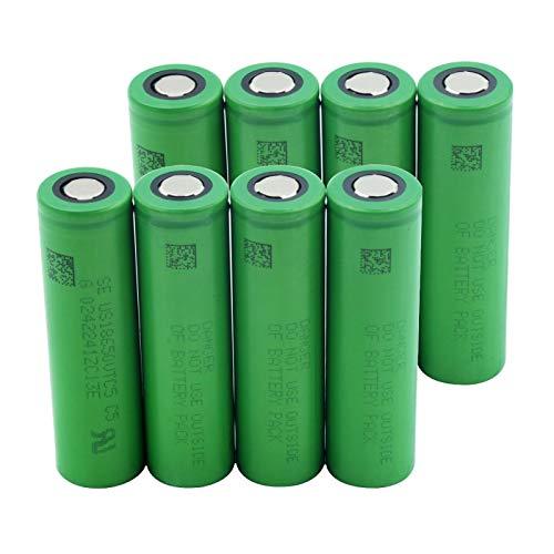 Yfkjh - Batería de ion de litio recargable para linterna de bolsillo (3,7 V, 4900mah, TR 18650, 2 unidades)