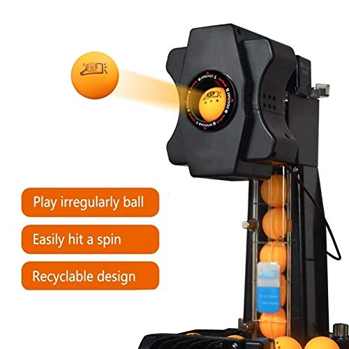 Best Review Of 2020 Table Tennis Machine Robot Automatic Ping Pong Machine Wireless Loop Service, wi...