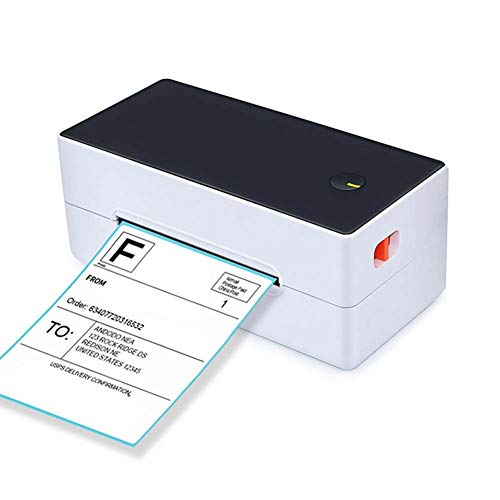 SRMTS Bluetooth Thermal Printer Receipt Printer Label or Barcode Printer for Phone Tablet,A