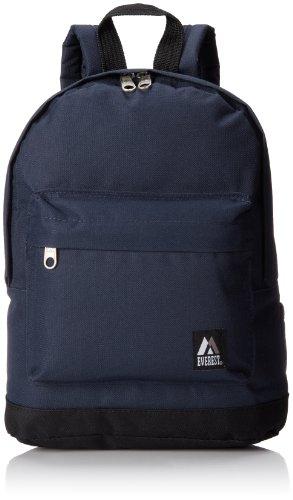 Everest 10452 Junior Backpack, Navy, One Size