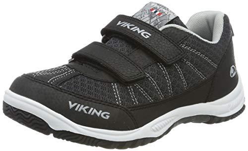 Viking Unisex-Erwachsene BRYNE Sneaker, Schwarz (Black/Grey 203), 29 EU