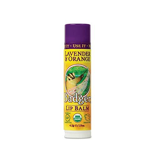 Badger Balm Lavender Orange Lip Care Stick