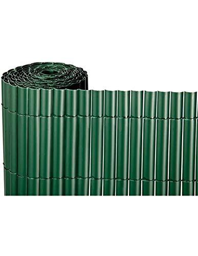 Jardin202 2x3m - Cañizo de PVC Simple Cara 900gr/m2 - Verde