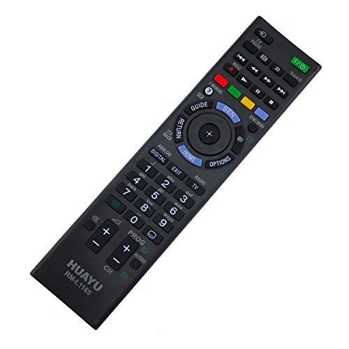 Ersatz Fernbedienung Sony LED LCD 3D TV RM-ED050 / FX0057911 / 149002211 Remote - frustfreie Bedienung
