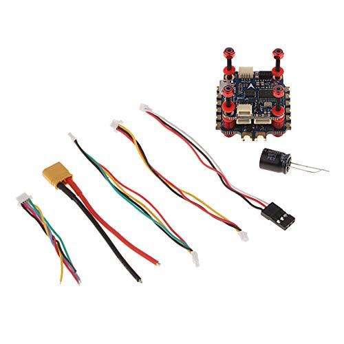 sharprepublic Sistema de Vuelo Flytower F4 Flight Controller Set para Mini Drone - Controlador de Vuelo + ESC