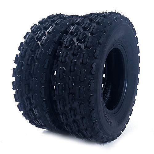 2Pcs 19X7-8 ATV UTV Tires Front Left And Right Tubeless Sport Tires 4 Ply P327 19-7-8 19/7 8 Load Range B