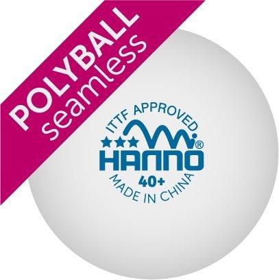 Hanno 3 Stern 40+ Plastikball Polyball 72er Pack
