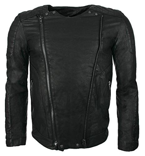 Women/'s Black /& White collo in pelliccia sintetica Check Inverno Cappotto Di Lana Mix Taglie 12 14