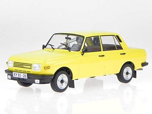 Wartburg 353 1985 gelb Modellauto 18077 MCG 1:18
