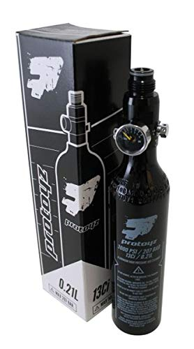 Protoyz HP System 200 Bar Regulator und 0,21l Alu Flasche, PI Zertifiziert