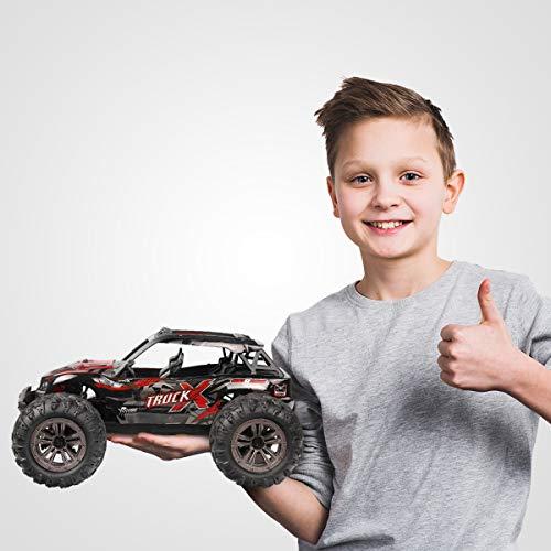 RC Truggy kaufen Truggy Bild 1: Hosim Ferngesteuertes Auto 1:16, RC Offroad Car 4WD 36 km/h, Elektronischen Spielzeugauto für Kinder Und Erwachsen (Modellnummer: 9137, Rot)*