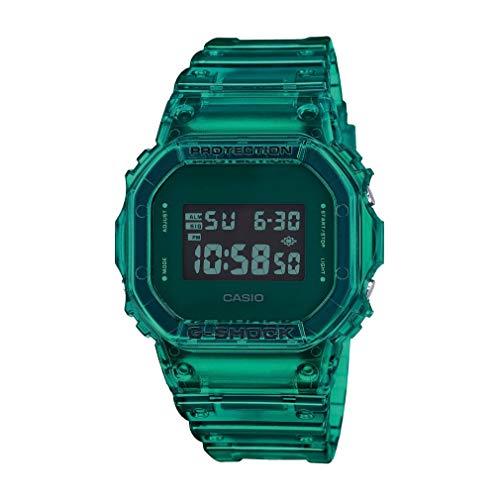 Casio G-Shock Orologio Digitale Uomo Special Edition Dw-5600sb-3er Green Color Skeleton