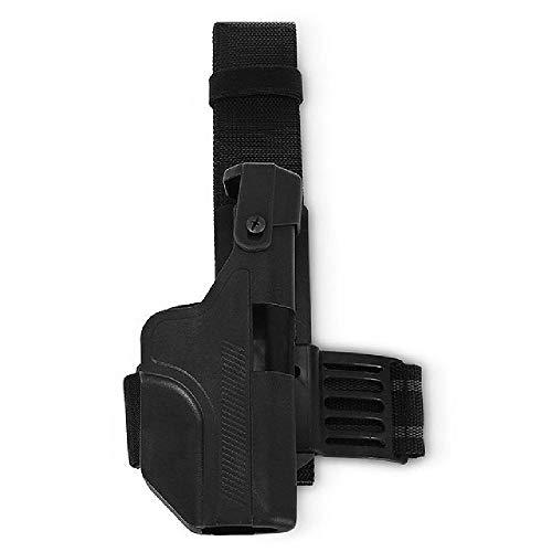 BGJ Caccia Fondina Militare Tattica di Alta qualità Glock Fondina per Cintura a Caduta Destra Pistola Airsoft Fondina per Glock 17 18 19 22
