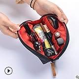 Kosmetiktasche Reisekosmetik Lagerung Halbrunde Handschale Tasche