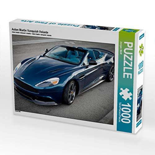 mächtig der welt CALVENDO Puzzle Aston Martin Vanquish Volante 1000 Stück Legendengröße 64x 48cm Fotopuzzle…