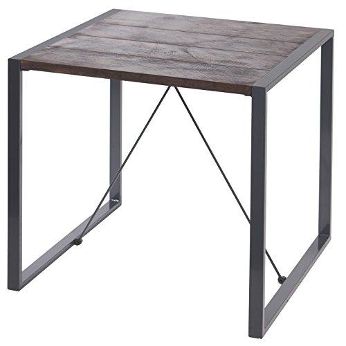 Indhouse Plat – Table de Restaurant loft Style Industriel en métal et Bois Bristol