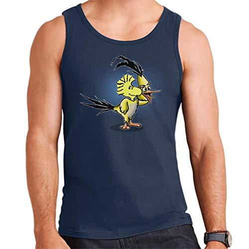 De toorn van Woodstock pinda's vogels parodie mannen Vest