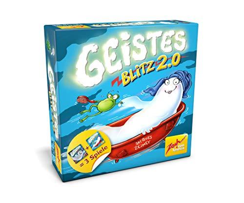 Zoch 601105019 Geistesblitz 2.0, das zweite geistreiche und lustige Reaktionsspiel mit dem extra Spritzer Esprit, ab 8 Jahren