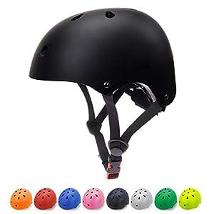 Glaf Kids Bike Helmet Toddler Helmet Children Multi-Sport Helmet CPSC Certified Impact Resistance Ventilation Adjustable… -