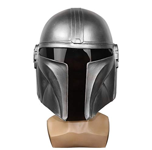 The Mandalorian Helmet for Adult, Black Series Cosplay Mandalorian Belt Zorri Bliss Mask