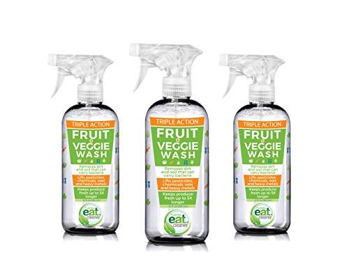 Eat Cleaner Fruit and Vegetable Wash 3-pack (12 oz)