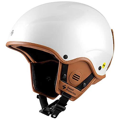 Sweet Protection Rooster II MIPS Le Casque de Ski et Snowboard pour Femme Blanc nacré Taille S