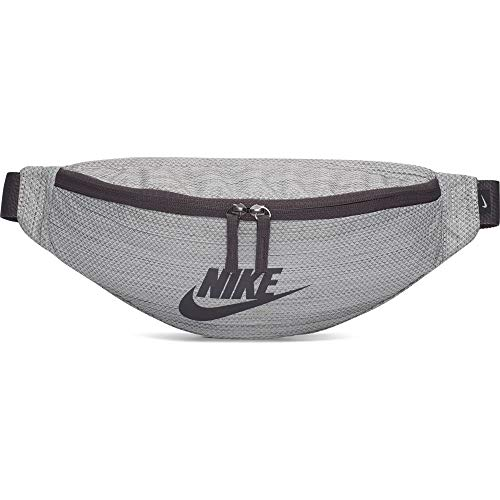 Nike Unisex– Erwachsene Heritage Hip Pack - MTRL Gürteltasche, Sail/Thunder Grey/Thunder Grey, One Size