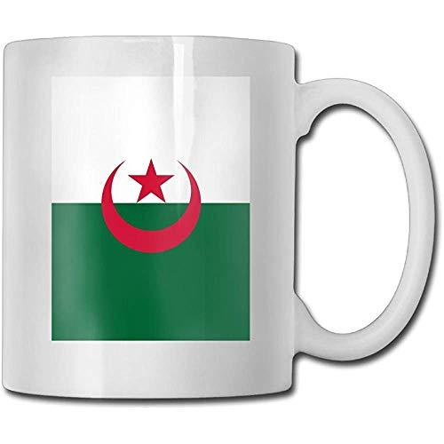 Algerische Flagge Teetassen Lustige keramische Kaffee-Tee-Schalen