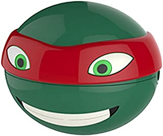 Evriholder Nickelodeon TMNT Snack-O-Sphere Lunch Box, Colors May Vary by Evriholder