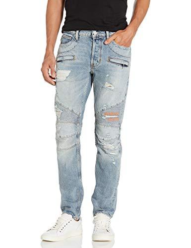 Hudson Jeans Herren The Blinder Biker Jeans, Thrasher, 47