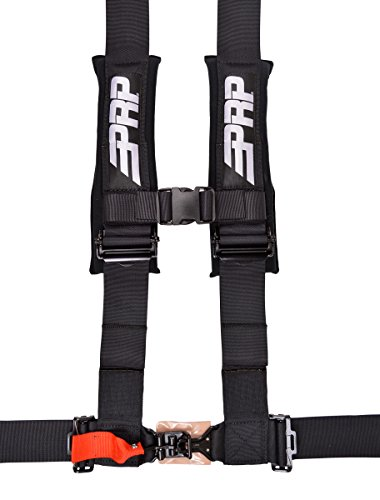 4 Point Harness with 3″ Belts Black By PRP SB4.3
