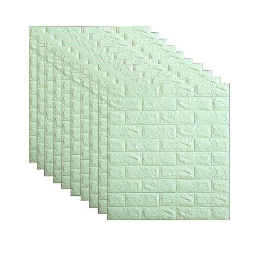 3D pared de ladrillo pegatinas de espuma PE autoadhesivasLas paneles de papel pintado despegar y pegar en 3D de pared de Arte en la sala de estar dormitorio decoración de la pared de fondo