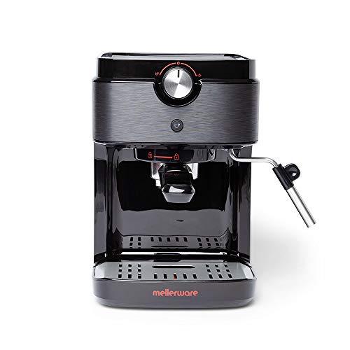 Mellerware Bari. Cafetera Espresso Negro