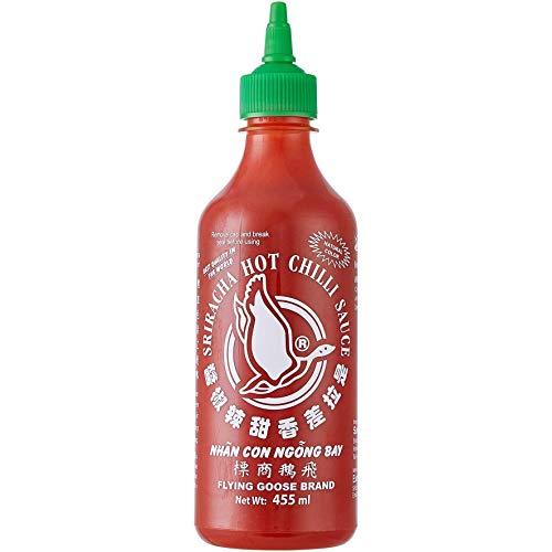 Flying Goose Brand - Sauce Hot Chilli fortement pimentée - 455 ml