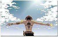 ワンピースルフィ兄弟 メタルポスター壁画ショップ看板ショップ看板表示板金属板ブリキ看板情報防水装飾レストラン日本食料品店カフェ旅行用品誕生日新年クリスマスパーティーギフト