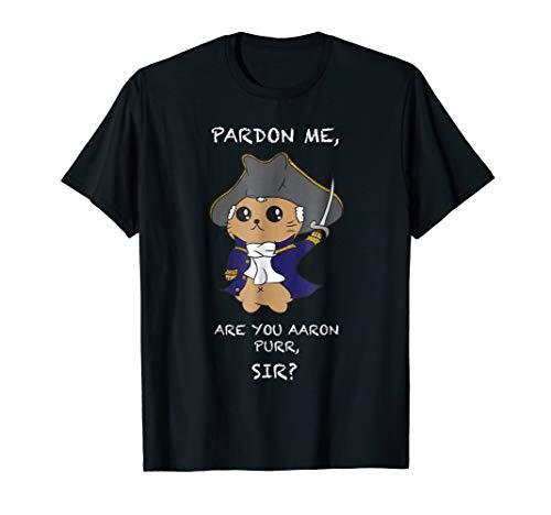 Cute Hamilton Cat T-Shirt