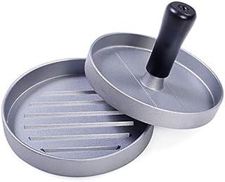 مجموعة مكبس ضغط دائري لتشكيل لحم الهامبرغر بحجم 12 سم من خليط معدني من الالومنيوم والستانلس ستيل، ملحقات المطبخ، ادوات طبخ...