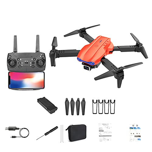 K3 Drone 4k HD with Camera 5G WiFi GPS Drone Brushless FPV Drone RC 1KM, The Best Drones with Camera for Adults & Kids (Orange)