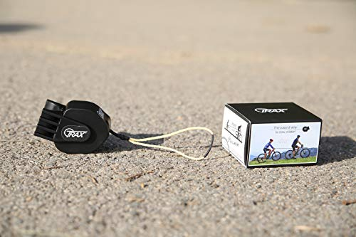 TRAX MTB - Sistema di traino per bicicletta / Ciclo / E-bike Adulto Unisex, Nero, Standard