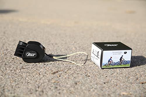 TRAX MTB - Sistema de Remolque para Bicicleta o Bicicleta eléctrica para Adulto, Unisex, Color Negro