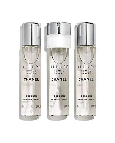 Chanel Parfumvullingen voor heren 3x20