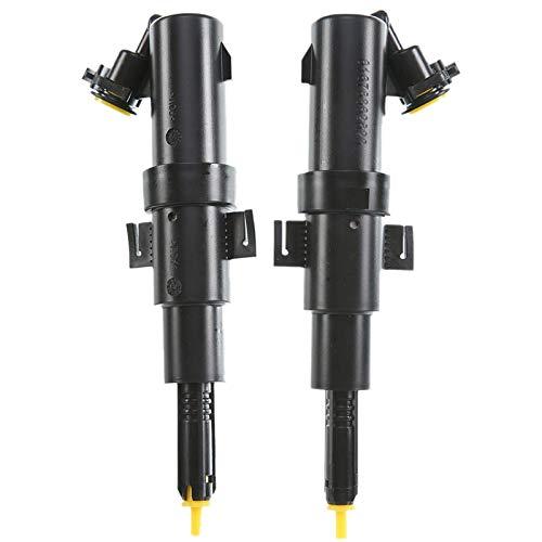 BYWWANG 2 boquillas de arandela de Faro de lámpara de Cabeza, para BMW E46 323I 325I 325Ci 328 330Ci 330Xi M3
