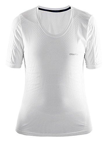 Craft Damen Funktionsshirt Cool Seamless, Weiß, X-Small / Small, 1903785-B900