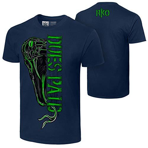 WWE Randy Orton Dues Paid Authentic T-Shirt, Herren, blau, XX-Large