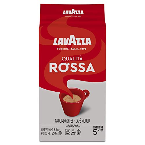 Lavazza Qualita Rossa - Caffe Ground Espresso, 8.8-Ounce Bag