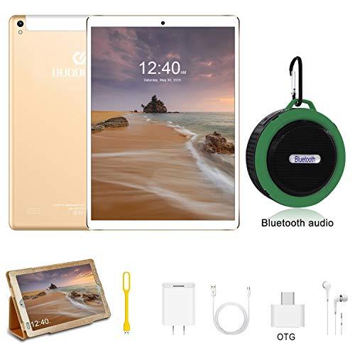 onda tablet Tablet 10 Pollici con Wifi Offerte Android 9.0 4GB RAM + 64GB ROM 4G Dual SIM 7500mAh Tablet Pc con 3 Slot (Dual SIM + Micro SD) Youtube/Netflix/GPS/OTG/Altoparlante Bluetooth- Certificato Google GMS