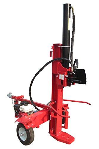 Varan Motors NEPLS-03 Senkrechter Holzspalter 6.5CV, Druck 26 Tonnen, Holzscheit bis 105cm